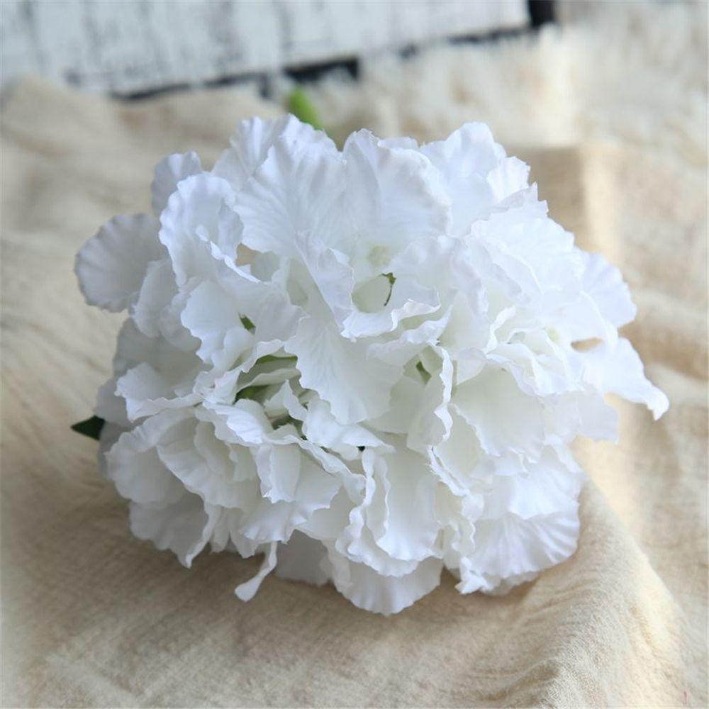 Linman Artificial Flowers Wedding Hydrangea Bride Bouquet For