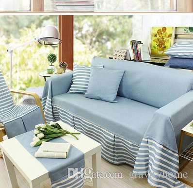 Dewel Stretch Sofa Cotton Flax Sover Elastic Sofa Mat Anti Slip Sofa