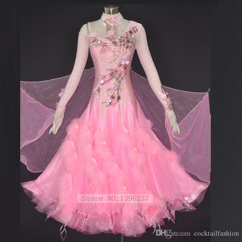 Pretty Pink Ball Room Dresses