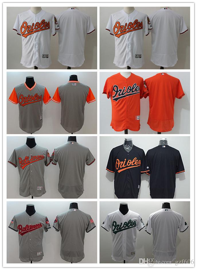 d37b742db05 2019 Custom Men S Women Youth Majestic Baltimore Orioles Jersey Personalized  Name And Number Home Orange Grey White Kids Girls Baseball Jerseys From  Gzf606