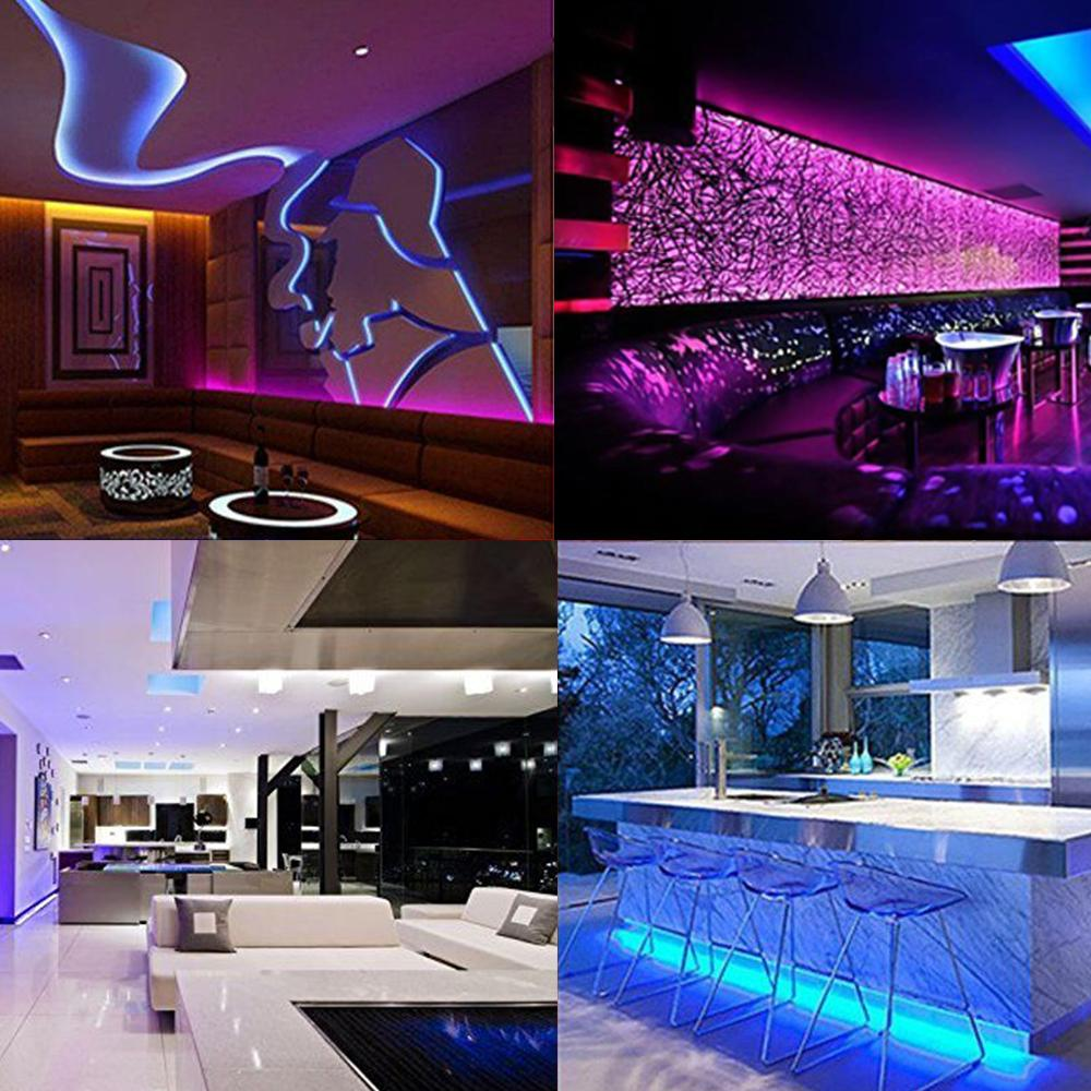 Led Strip Light Set Oxoqo Lights With Smd 5050 Rgb 300 Tape Along Multicolor Strips Wiring Flexible Ip65 Waterproof Wire Length 10 M From Sebastiani