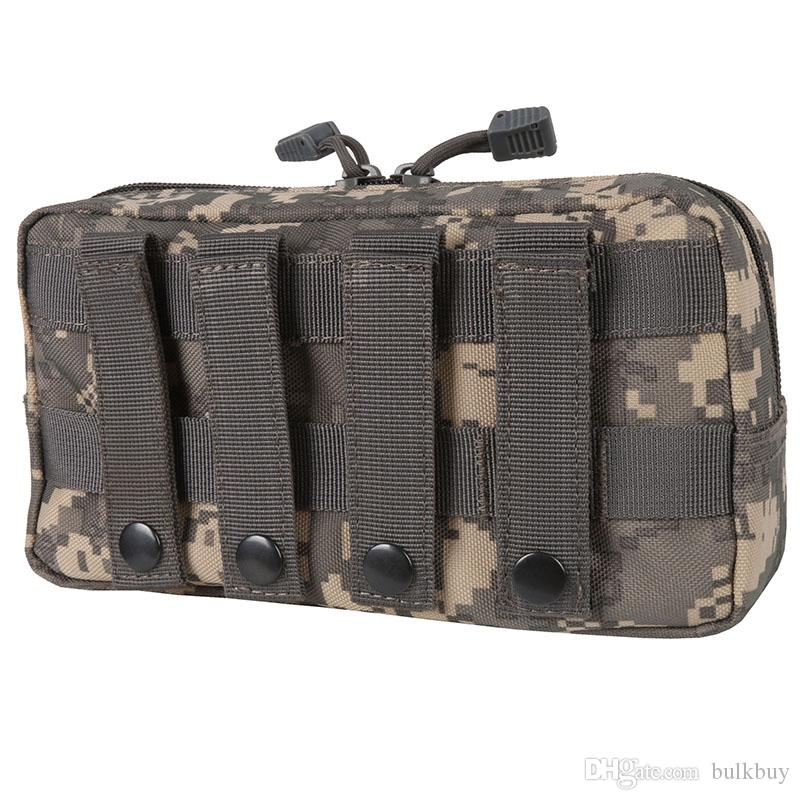Outdoor Storage Gear Molle Pouch Military Tool Tactical Airsoft Vest Sundries Magazine Hunting Bags