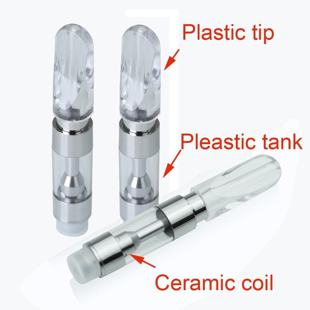 Ceramic Vape Refillable Cartridge 510 Oil Cartridge Ceramic Coil Newly MT6  Cartridge Electronic Cigarette For O Pen Battery