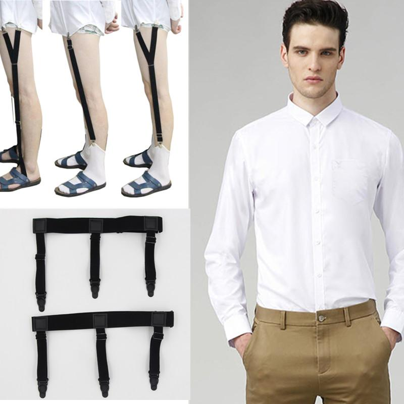 Delicious Mantieqingway Nylon Shirt Stays Garters For Mens Leg Suspenders Braces Gentleman Suspensorio Elastic Adjustable Strap Belts To Be Distributed All Over The World Men's Accessories Apparel Accessories