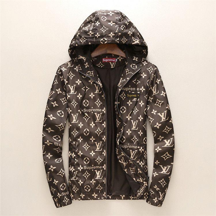 1e537c706398 Luxury Mens Jacket Coat Autumn Windrunner Jackets Brand Designer Sports  Windbreaker Thin Casual Jacket Men Tops Clothing Men s Jackets Men s  Outerwear Males ...