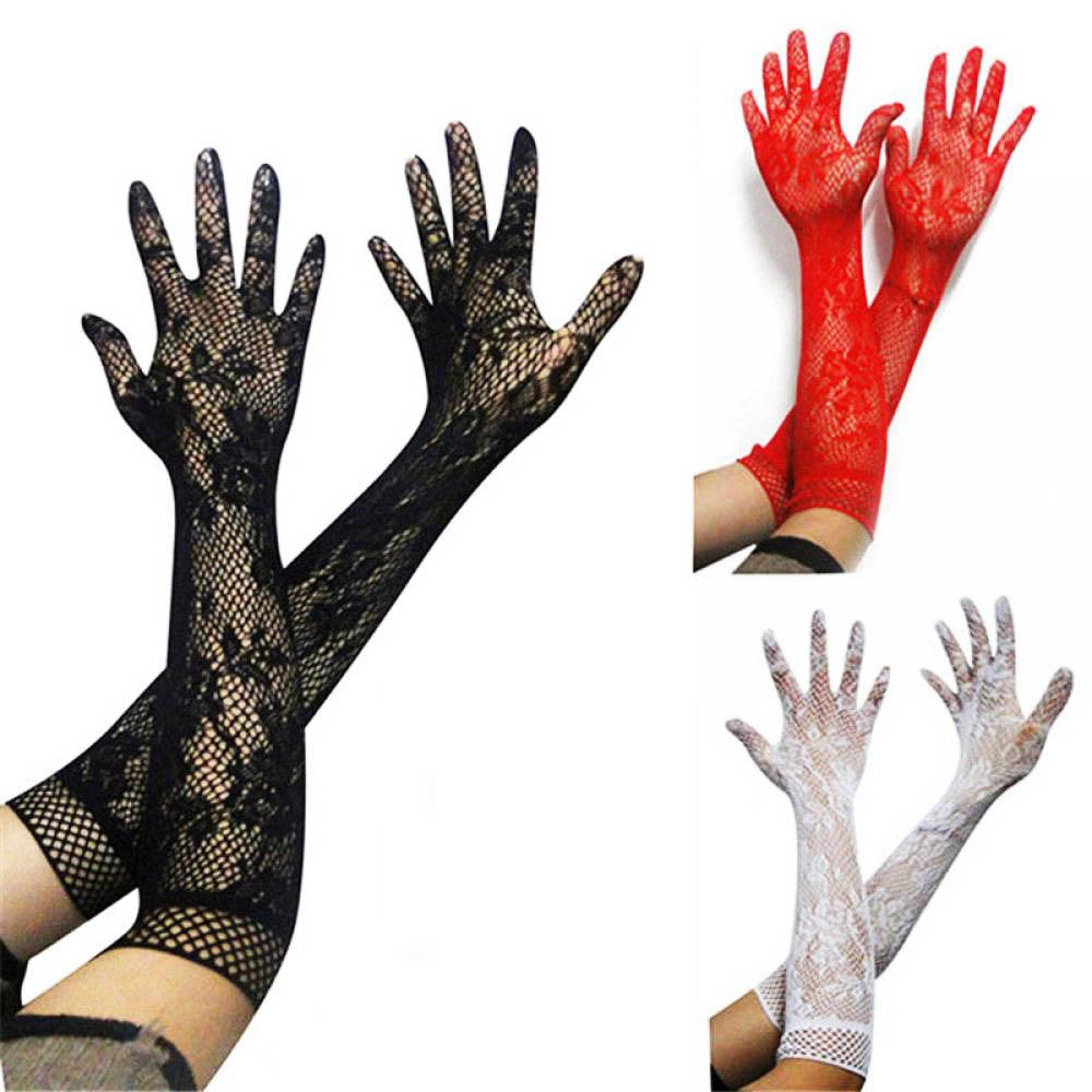 Sexy lace gloves