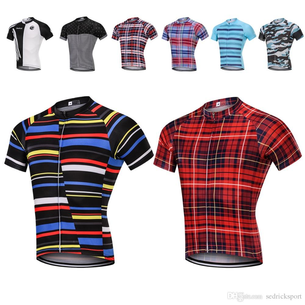 2c02e7979 MILOTO 2018 Cycling Jersey Tops Summer Racing Cycling Clothes Ropa Ciclismo  Short Sleeve Mtb Bike Jersey Shirt Maillot Ciclismo Bike Accessories T  Shirts ...