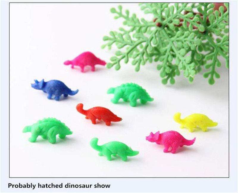 حار بيع نفخ ماجيك الفقس ديناصور إضافة المياه المتنامية دينو البيض الطفل كيد لعبة dhl شحن مجاني