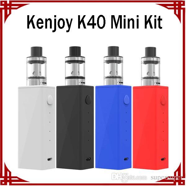 Kenjoy K40 Mini Kit Starter Kits Electronic Cigarette 40W Vape Pen With  Nova40 Mod USB Charger Bright UV Piano Painting Design