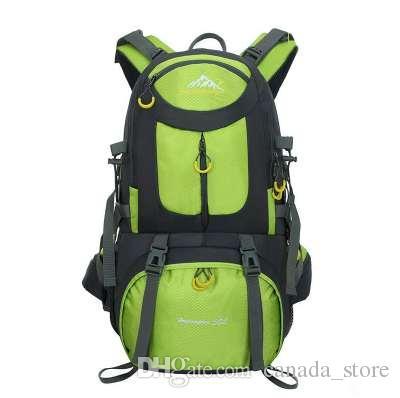 5131f46bbe91 50L Outdoor Bag Men Camping Bag Waterproof women Hiking Backpack Travel  equipment Sport Bag Climbing Rucksack Big Load