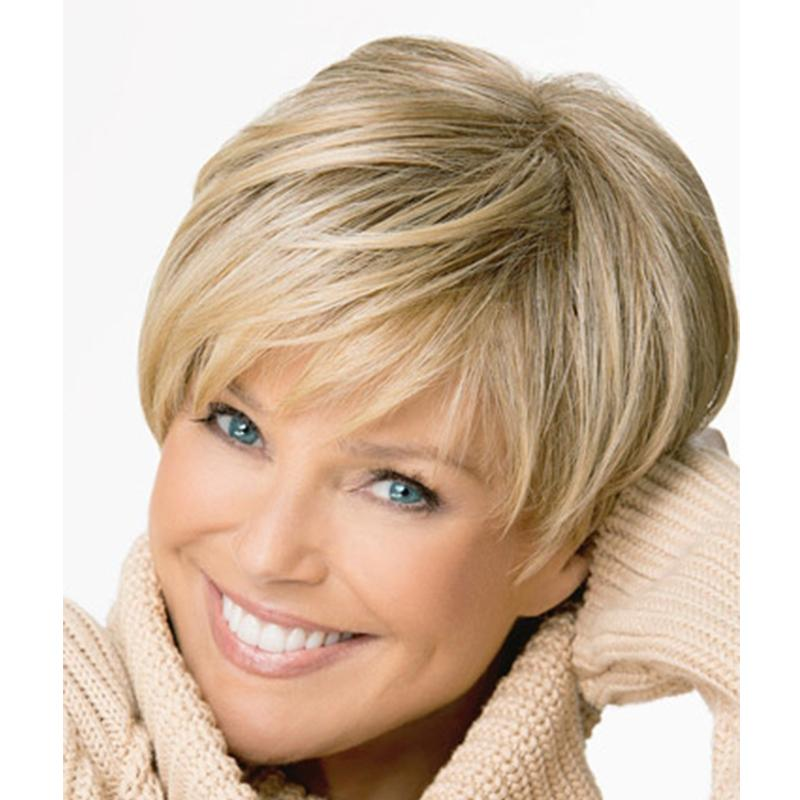 10 Inches Women Fashion Sexy Synthetic Fluffy Women Wigs Short Hair