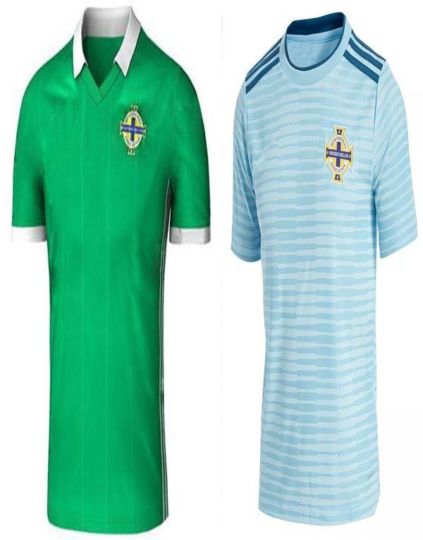 new 2018 northern ireland world cup jersey mcnair green away k lafferty  davis thai quality northern 51930f012