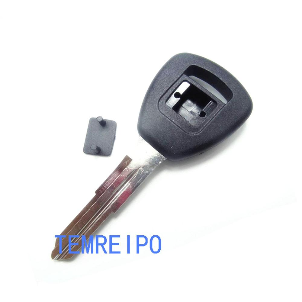 Car transponder key blank chip key shell cover no chip for honda uncut key