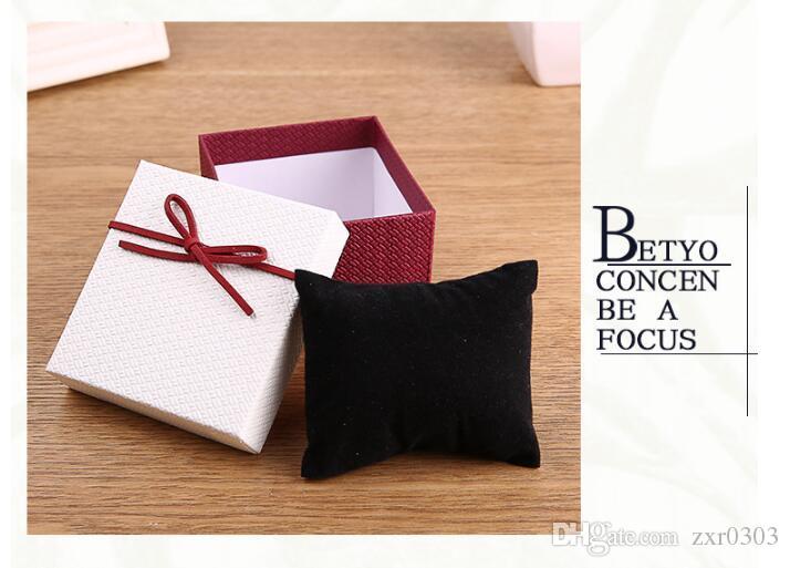 시계 상자 Willby 리본 bowknot 내구성 선물 상자 시계 케이스 팔찌 팔찌 보석 시계 케이스
