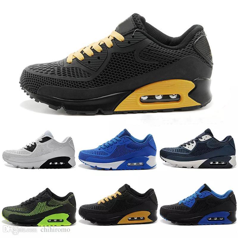 nike air max 90 kpu airmax 2017 de alta calidad zapatillas de deporte Cojín 90 KPU hombre para mujer clásico 90 zapatos casuales zapatillas de deporte