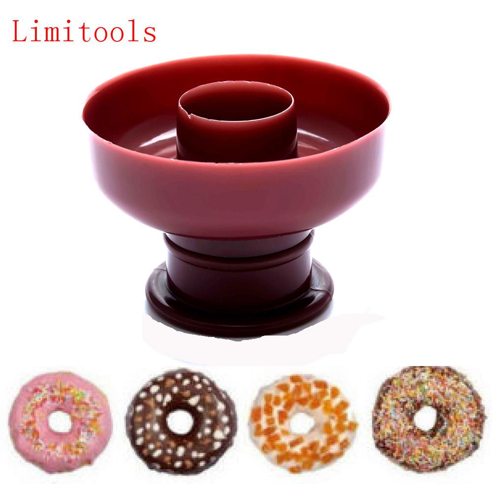 2019 New Donut Maker Cutter Mold Fondant Cake Bread Desserts Bakery Mould Tool DIY Decorating From Caronline 3265