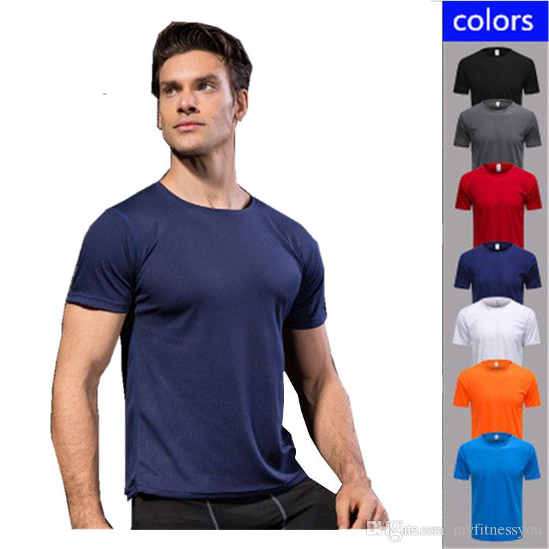 Trend Mark 2019 Outdoor Men Women Quick-drying Short-sleeved T-shirt Fitness Running Sports Ultra-light T-shirt Breathable Yoga Clothes Wrench
