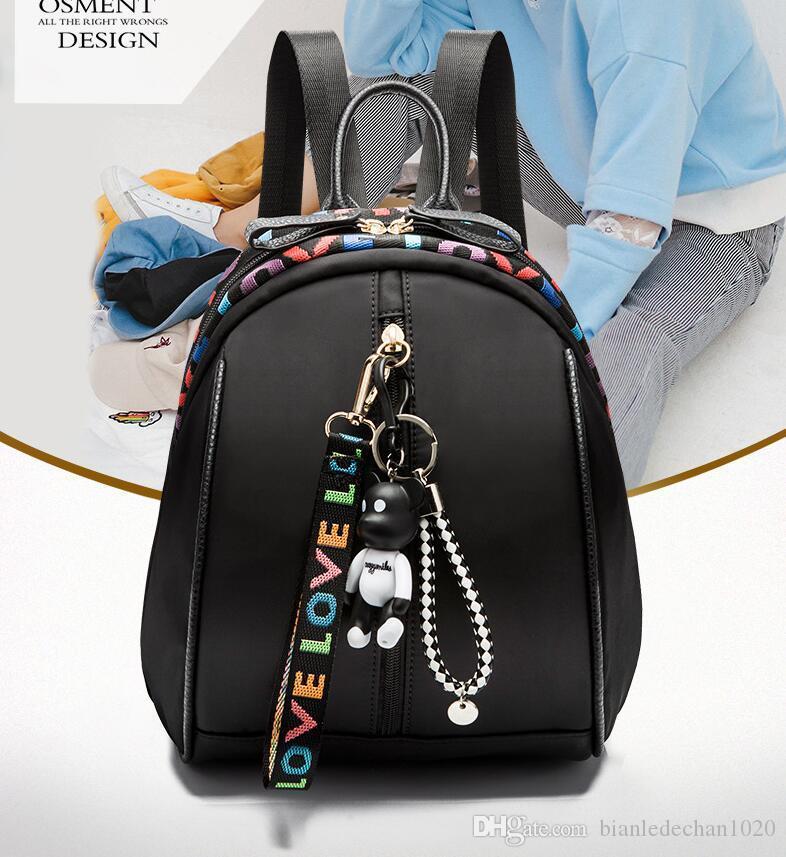 950c4b595 Small Fresh Canvas Backpack Female Student Korean Bag Leisure Travel Backpack  Backpacks For School Laptop Backpacks From Bianledechan1020, $32.8|  DHgate.Com