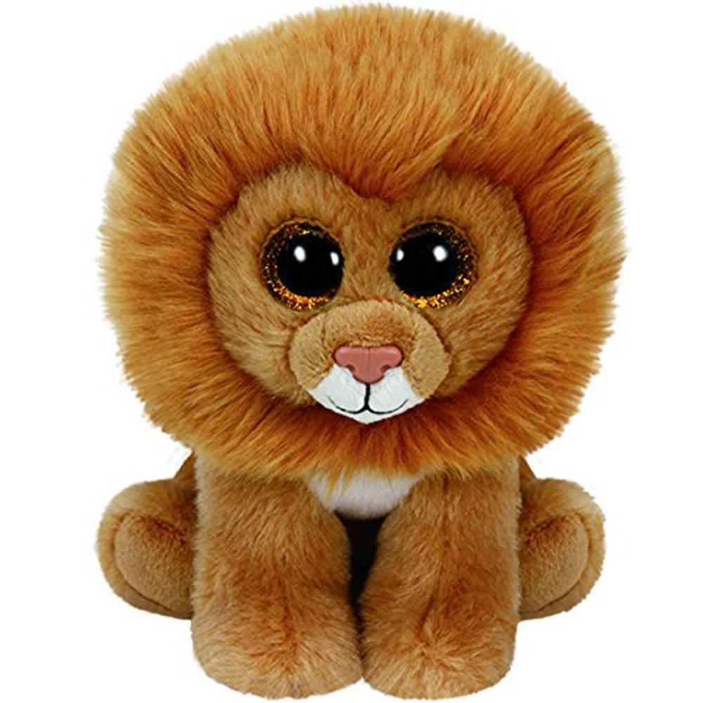 2019 Pyoopeo Original Ty Beanie Babies 6 15cm Louie The Tan Lion Plush  Regular Soft Stuffed Animal Collectible Doll Toy From Entent 78f2d410cf5