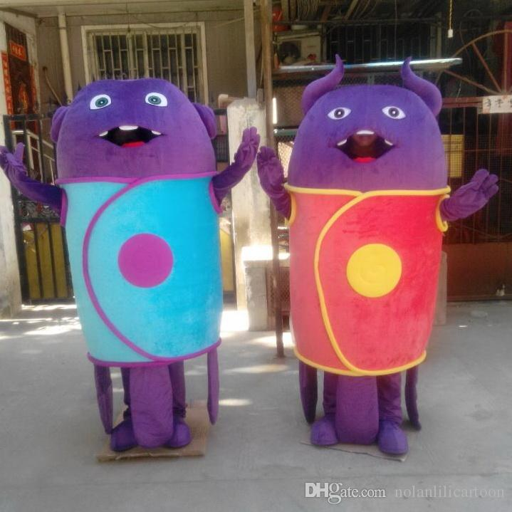 EVA Matériel Costumes de mascotte extraterrestre Accessoires de film de bande dessinée Vêtements WS511