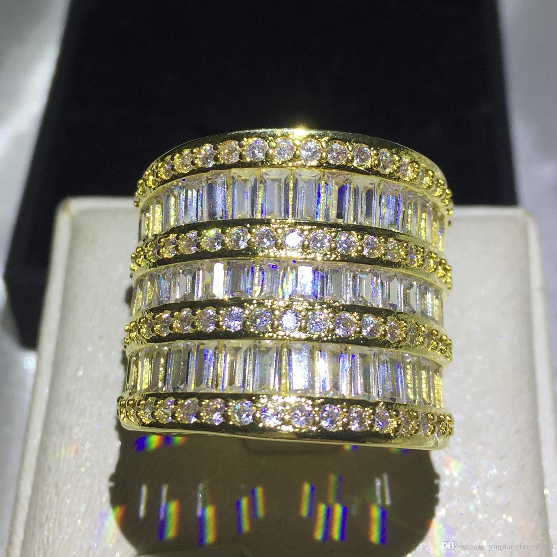 3d364dded97682 Acquista Gioielli Di Moda Grandi Gioielli Anelli Con Diamanti Donna Oro  Fascino T 925 Anelli Di Fidanzamento In Argento Sterling A $28.15 Dal ...