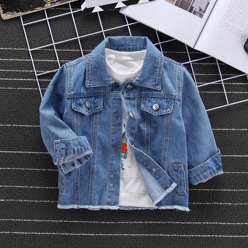4778936c2b44 Baby Boy Clothes 2018 Autumn Boy Fashion Embroidery Outwear Long ...
