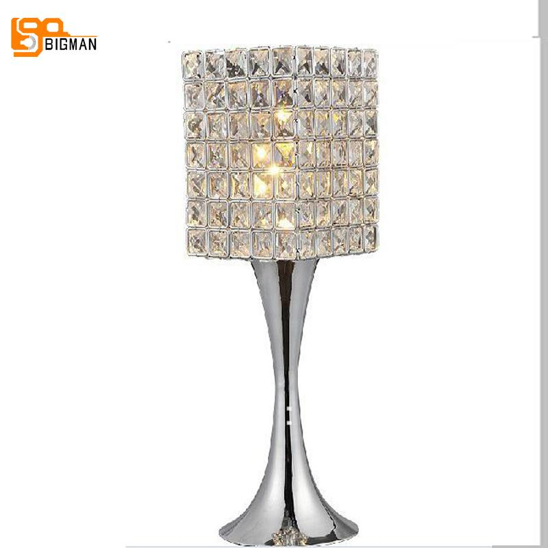 2019 New Item Hot Sales Contemporary Crystal Table Lamps, Beautiful ...