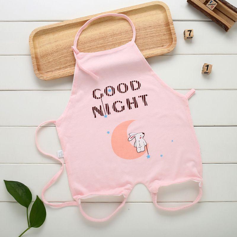 NEW Summer Newborn Baby Bibs Bamboo Fiber Even the Feet Stomachers Bellyband Soft and Comfortable Cartoon Baby Bibs