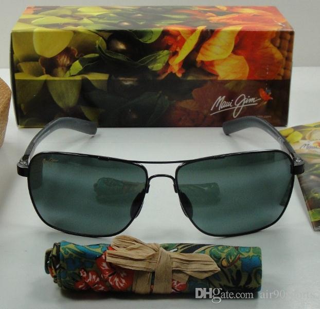 b84ef19eee6 Brand Designer Maui Jim 326 Hookipa Sunglasses MJ326 Men Women MJ ...