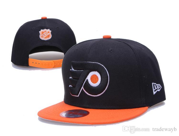 2018 New Wholesale Philadelphia Flyers Snapback Hats Yellow Baseball Caps  Hip Hop Mens Ice Hockey Sport Team Caps Adjustable Snapback Cap Cool Hats  From ... 1d28cbbdd1a