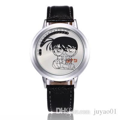 Купить Оптом LED Сенсорный Экран Часы LED Аниме Творческий Моды Студент  Водонепроницаемый Детектив Конан Студент Сенсорный Дикий Часы Отjuyao01 В  Категории ... fe625abf27970