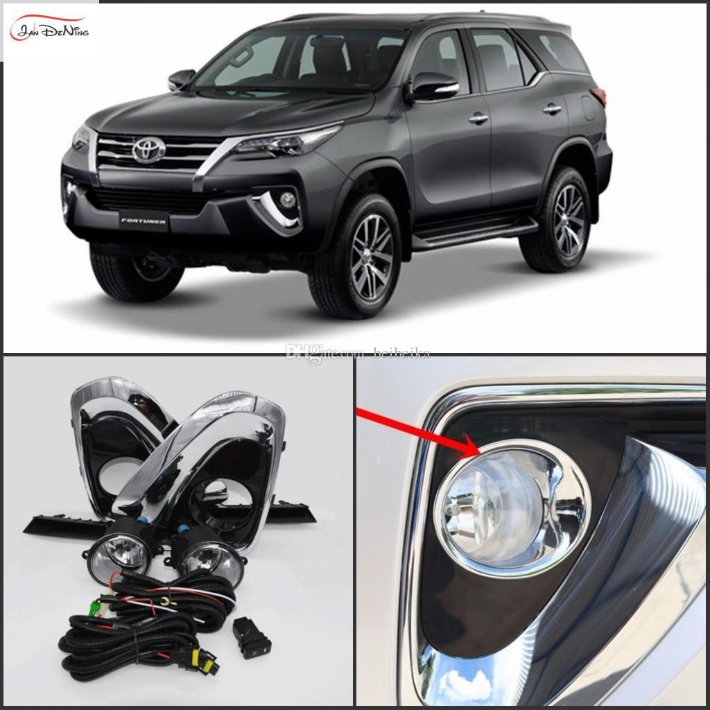 Car Fog Lights For Toyota Fortuner 2016 Hilux Sw4 Halogen Wiring Harness Utv 5in Order To Install Right And Work Properly Professional Installation Is Needed