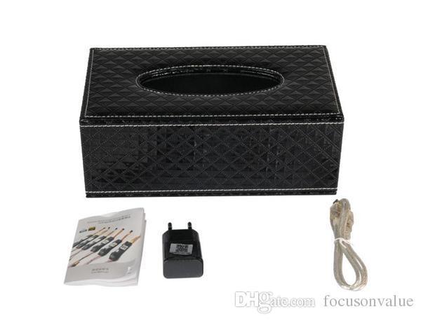Wireless WIFI Tissue Box Camera Full HD 1080P mini IP camera P2P Tissue Box DVR Live view Home Security Networkd Camera Remote Monitor