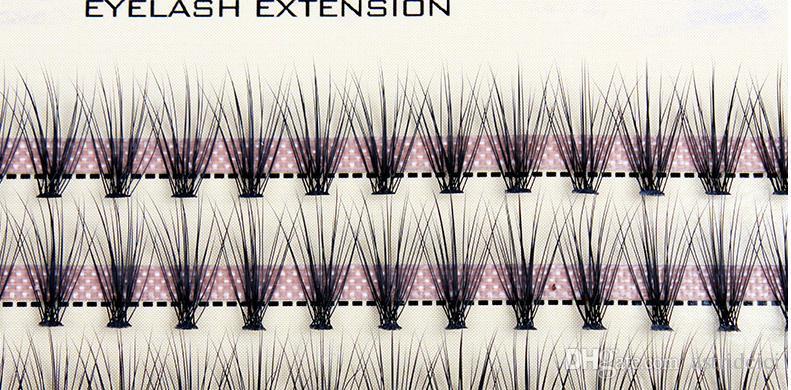 0.07mm Natural Curl Soft So Real Individual Eyelashes Extension Planting Fake Eyelash M Hair False Eyelashes 8/10/12mm Grafting Eyelashes HO