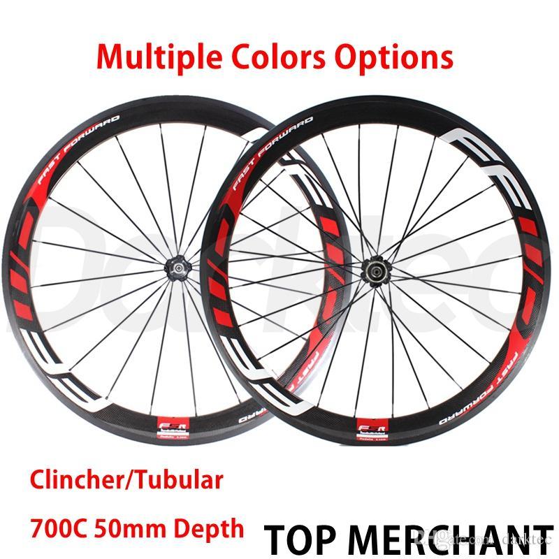 97ea2c21c64 FFWD Wheels F5R 50mm Wheelset NOvatec Hubs Full Carbon Road Bicycle Bike  Wheels Mountain Bikes For Sale Bicycle Wheel From Darktec, $340.71   DHgate.Com