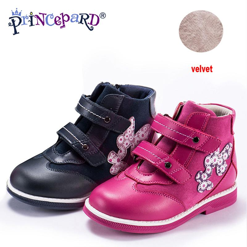 cdfef157b0 princepard 2018 new orthopedic shoes for kids casual genuine leather pink  navy color baby orthopedic shoes s and boys 21 36 toddler gym shoes kids