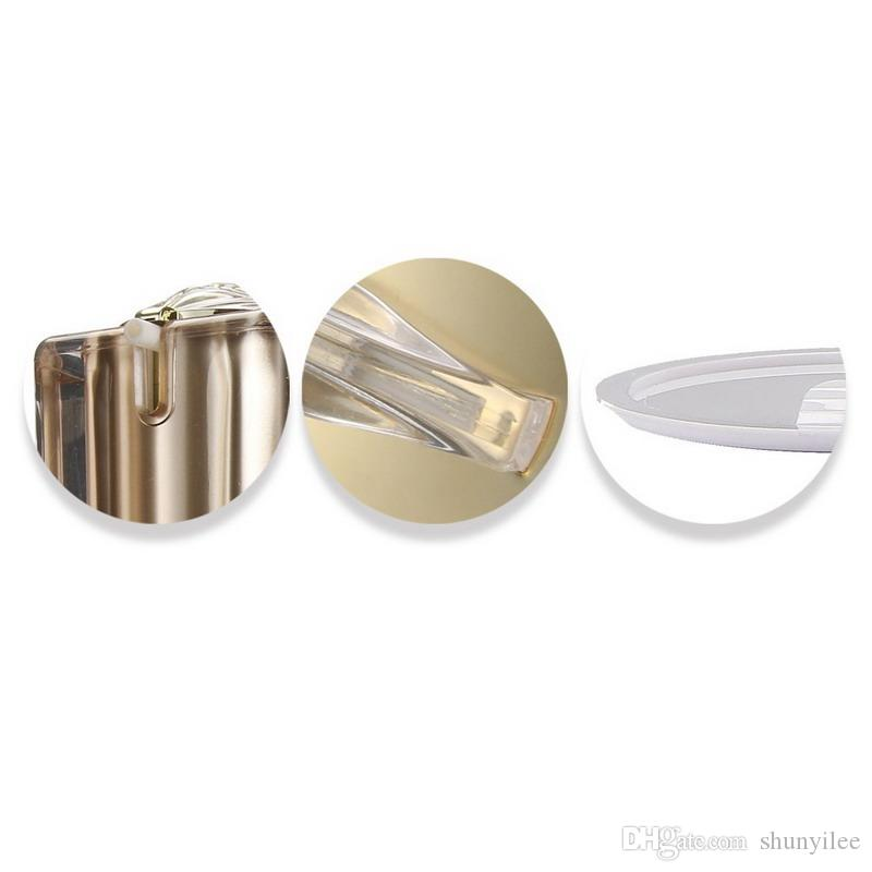15g 30g 50g 30ml 50ml 100ml Leere Gold Quadratische Form Acryl Lotion Creme Pumpe Flasche Kosmetikbehälter Luxus Bogen Cremetopf