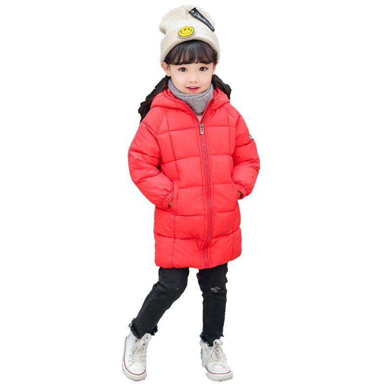 606d40a3e4c1 Kids Winter Cotton Padded Coat Boy Thicken Hooded Zipper Outwear ...