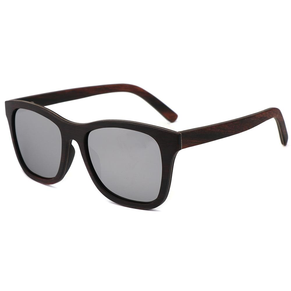 89fd0c01bf BerWer Ebony Wood Design Luxury Sunglasses Women Original Wood Handmade Sun  Glasses Man Fashion Vintage Style Sunglasses Uk Polarised Sunglasses From  ...