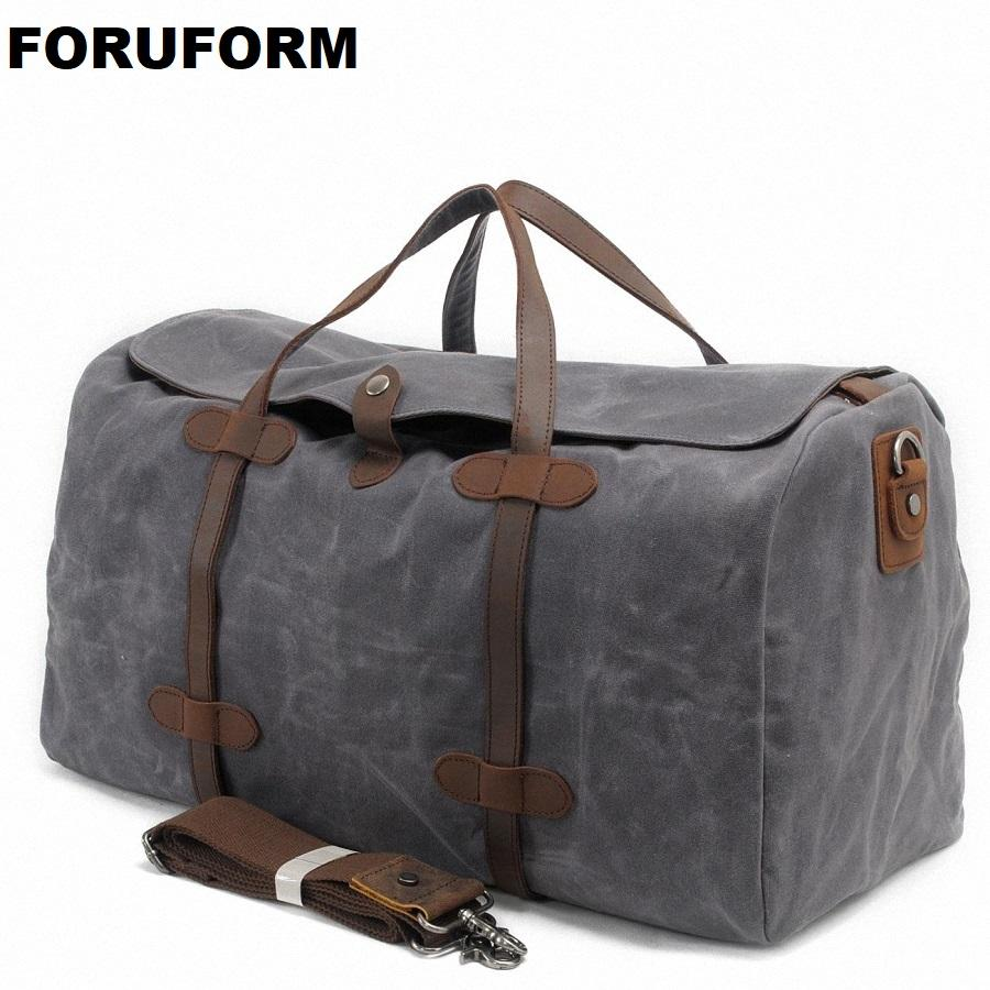 Large Capacity Travel Bag Men Carry On Luggage Duffle Bag Women Waterproof  Canvas Weekend Bags Overnight Bolas Tote LI 1256 Messenger Bags For Men  Hobo Bags ... 9a4f0105729a3