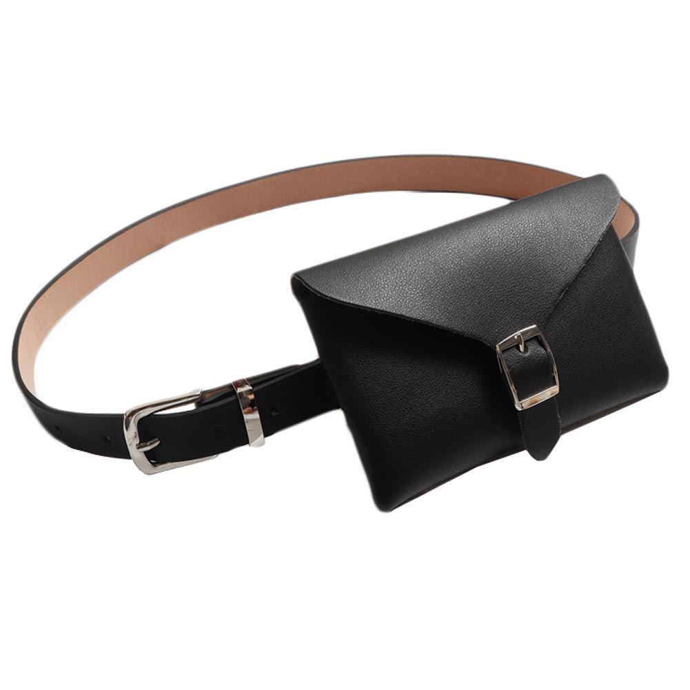 0b957e637d454 Women Pu Leather Money Belt Bag Bum Hip Fanny Packs Fashion Phone Coin Pouch  Purse Waist Pack Female Fashion Women S Waist Bags Waist Purse Fashion  Fanny ...