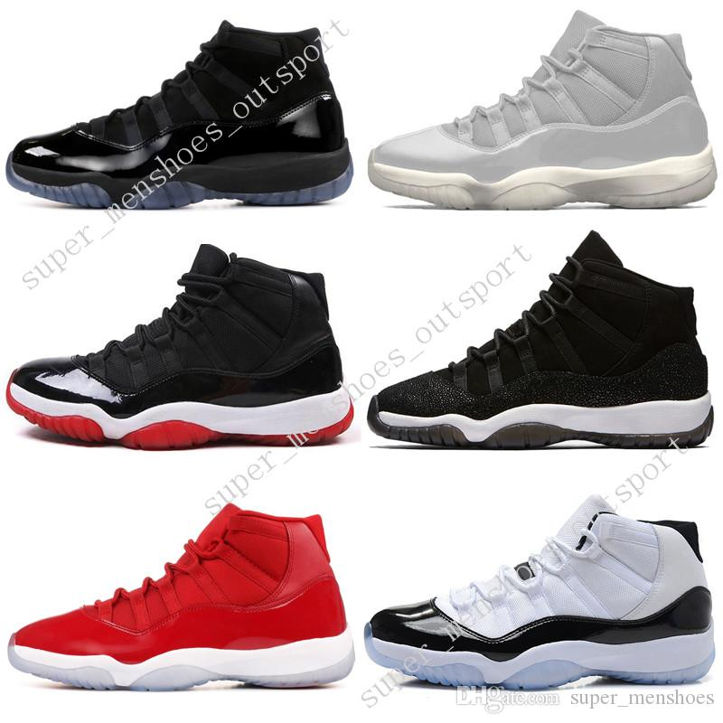 2018 11 11s Cap And Gown Prom Night Mens Basketball Shoes Gym Red Bred Prm  Velvet Heiress Blue Barons Concord Men Sport Sneaker Trainers Designer From  ... aef9f7aa41cf