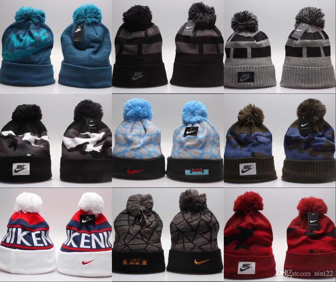 0fcee0a44a9 Wholesale Fashion Brand Beanie Unisex Spring Winter Hats For Men Women  Beanie Wool Hat Man Knit Bonnet Gorro Chapeu Knitted Thicken Warm Cap  Baseball Hat ...