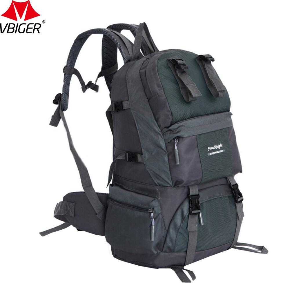 42bc37fd2fe8 Vbiger 50L Men s Backpack Large-capacity Travel Shoulders Bag Casual High  Quality Dayapck Durable Backpacks For Unisex Backpack for High Quality  Backpack ...
