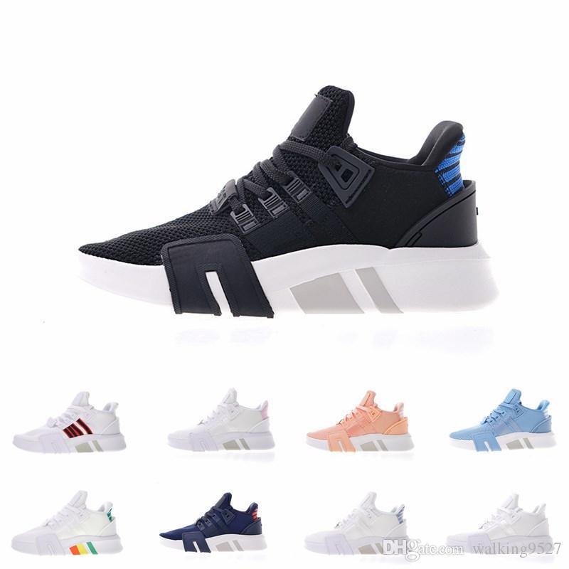 online store 45e37 4a9d2 Acheter Support EQT Mid Originals 2018 Nouveaux Hommes Designer Chaussures  De Course Pour Hommes Baskets Femmes Marque De Luxe Casual Formateurs De  71.07 ...