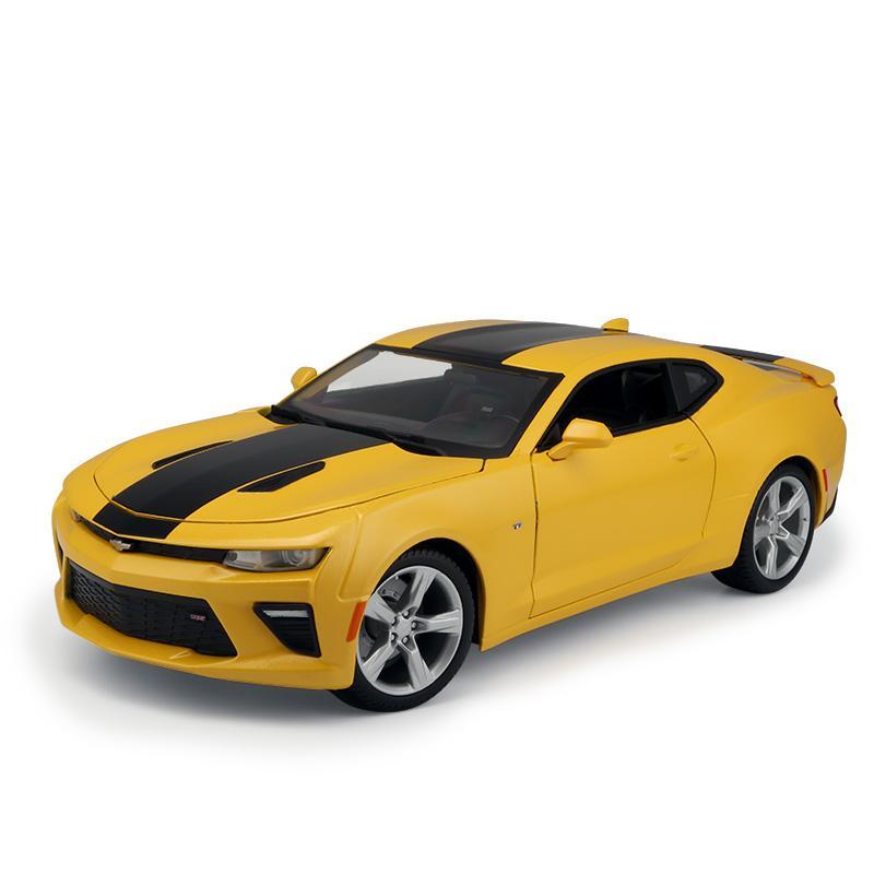 Compre 1 18alloy Pull Back Toy Chevrolet Camaro Ss Modelo De Coche