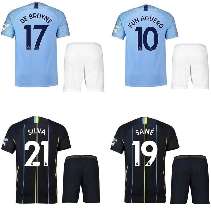 02cb89345 2019 DHL 2018 19 Manchester City Soccer Jersey Home And Away Kit Sterling  Cheap Jersey Accept Customized From Superpowerseller09