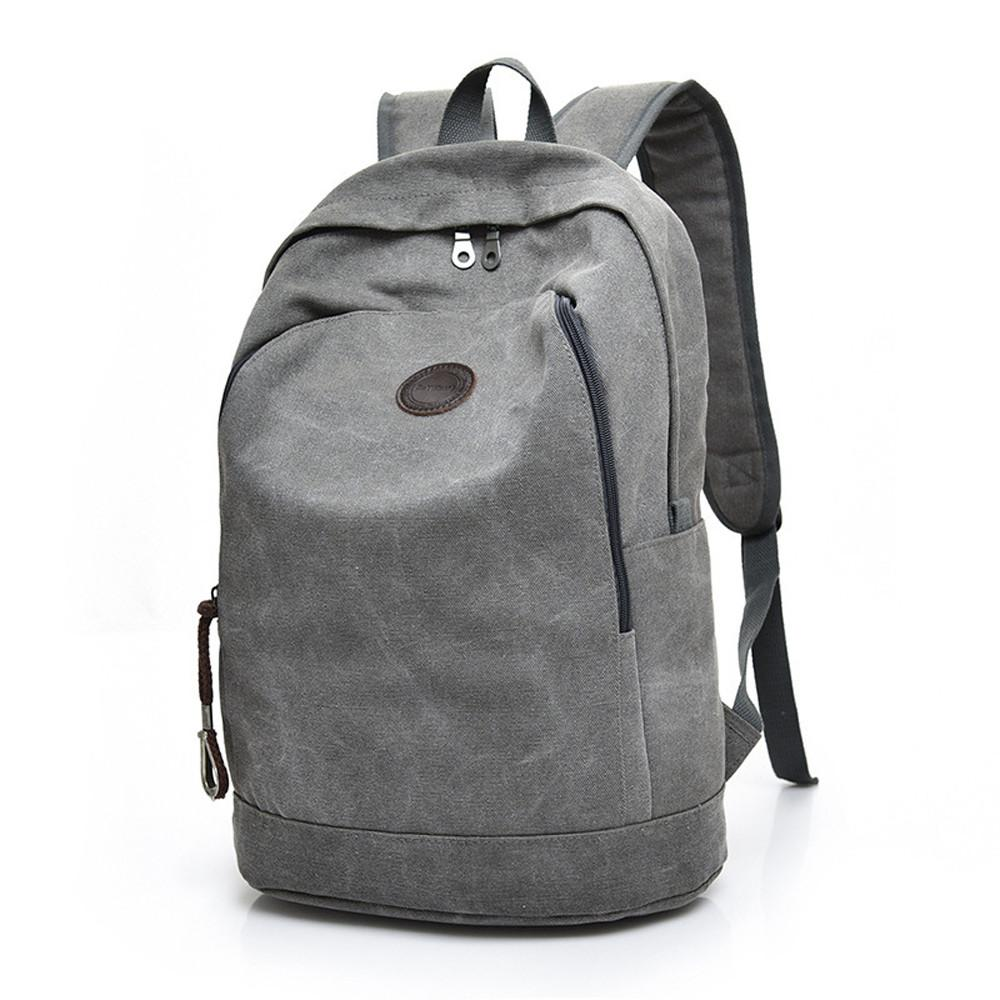 2018 Hot Sale Men Canvas Backpacks Laptop Bag School Bags For Teenagers  Middle Students Boy Casual Travel Backpacks Osprey Backpack Tool Backpack  From ... 9cfc157afe652