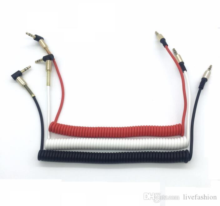 spring stereo elbow audio cable right angle 3 5mm male line in car rh dhgate com JVC Car Stereo Wiring Diagram Sony Car Stereo Wiring Diagram