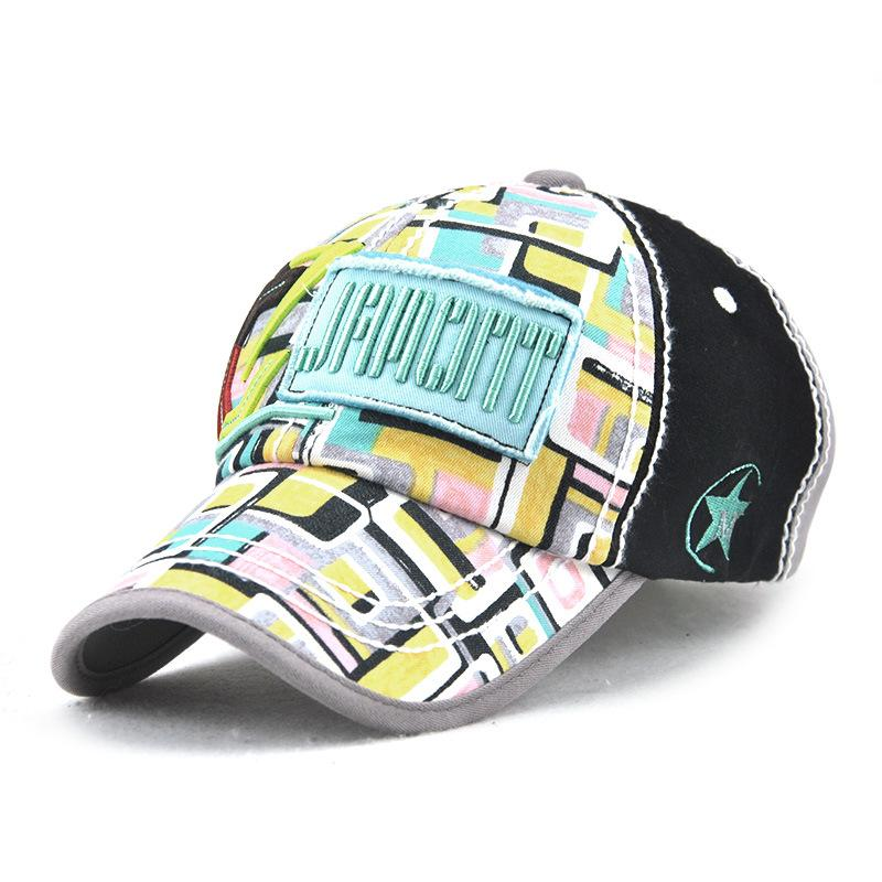 New Ladies Outdoor Caps 2018 Spring Fashion Cotton Hats ... 86856718cd5